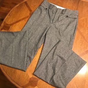 Banana Republic HighWaist Wide Leg Wool Slacks 12L